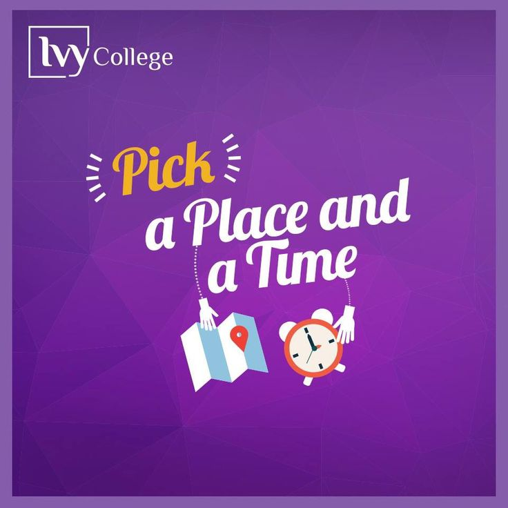 Pick a time and a place. Designed by Slidemaster.