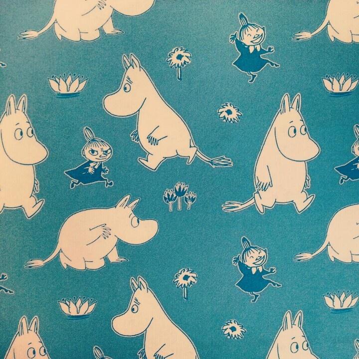 Moomins Endpapers