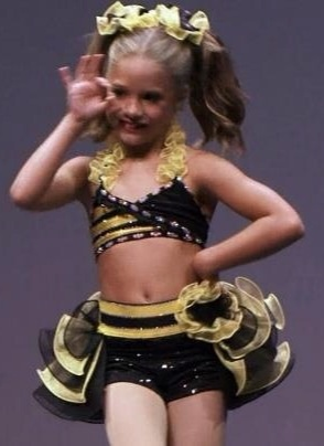 """Killer Bee"" Mackenzie Ziegler solo. Mackenzie won a national title with this solo in 2012."