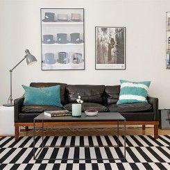 20 imagens para você amar os sofás de couro