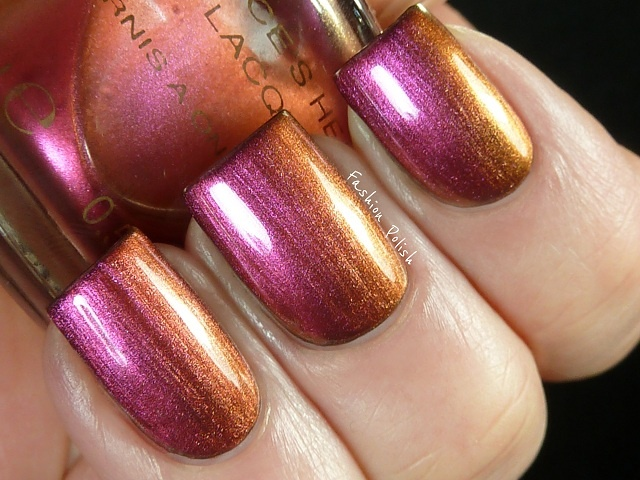 Versace Heat V2033 Nail lacquer. From Fashion Polish.: Heat Nails, Polish Nails, Versace Heat, V2033 Nails, Metals Nails, Fashion Polish, Nails Polish, Nails Lacquer, Heat V2033