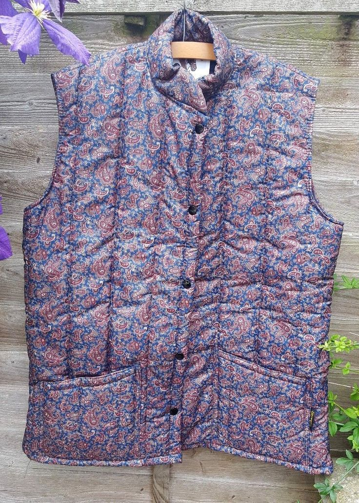 http://www.ebay.co.uk/itm/Lavenir-Ladies-Paisley-Quilted-Horse-Riding-Jacket-Weistcoat-Body-warmer-Size-L-/222543834126?