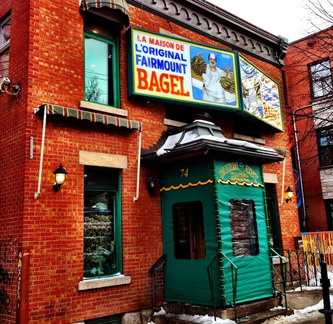 The Original Fairmount Bagel Bakery, Montreal, Canada >>> This place says it has the best bagels in Montreal and everything is made my hand. Bagels are my weakness and I am so hungry now! Has anyone been here, is it as good as they say?