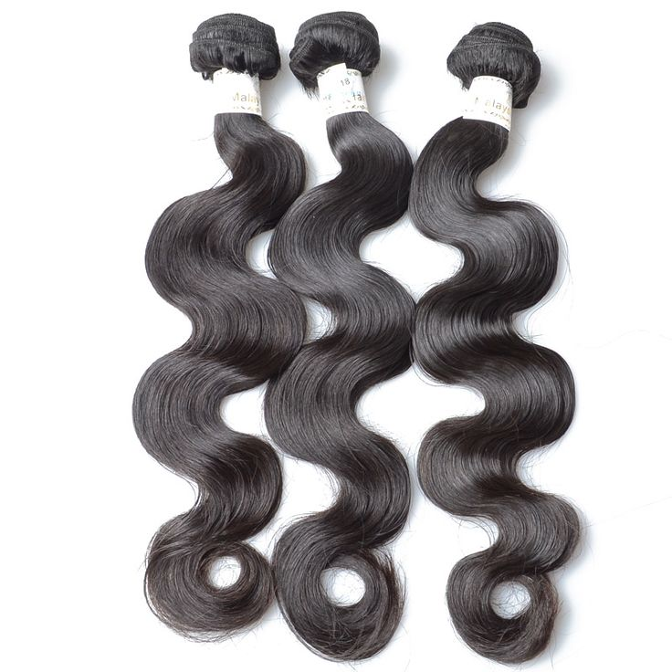 6A Malaysian Hair Body Wave Hair Weft Hot Sell 3PCS/Lot Wholesale Price Large Stock 1B-KBL Virgin Hair