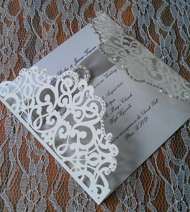 vintage doily wedding invitations%0A By craftydesignerme on Etsy  Wedding Invitation SamplesLaser Cut Wedding  InvitationsCouture Wedding InvitationsVenetian WeddingVintage