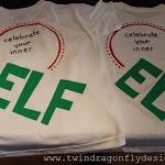 DIY Elf T-shirt cute for #elfontheshelf