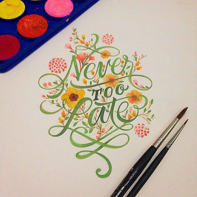 Never too Late by Patrick Cabral