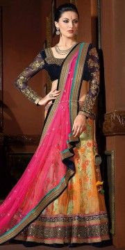 Fabulous Beige Dhupian Saree With Blouse