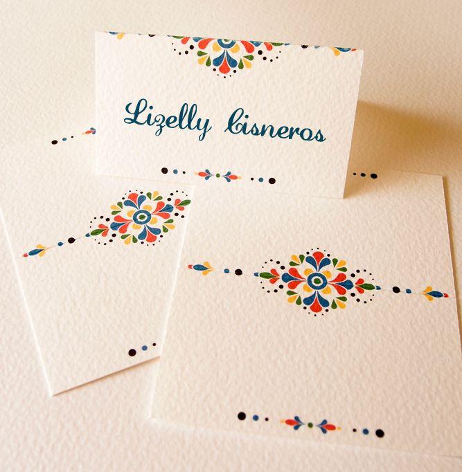 mexican-inspired wedding day elements « Lizzy B Loves ~ Wedding Invitations & Celebration Stationery