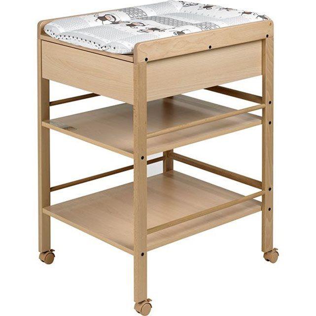 Table a langer avec tiroir avant Naturelle Lotta GEUTHER | La Redoute Mobile