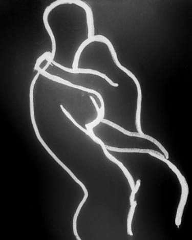 "Saatchi Art Artist bridget griggs; Drawing, ""#3 Drawing Kuma Sutra"" #art"