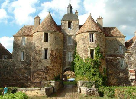 Le Château de Ratilly - Puisaye - Yonne