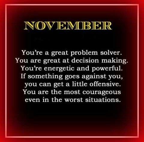 November Born Sagittarius