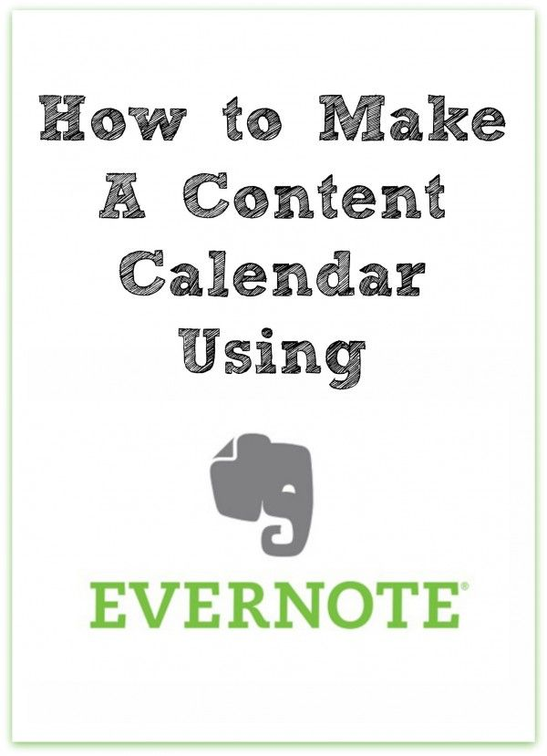 17 best images about editorial calendars for content for How to create a template in evernote