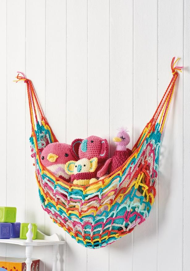 Find Out How To Make A Toy Hammock With This Free Crochet Pattern