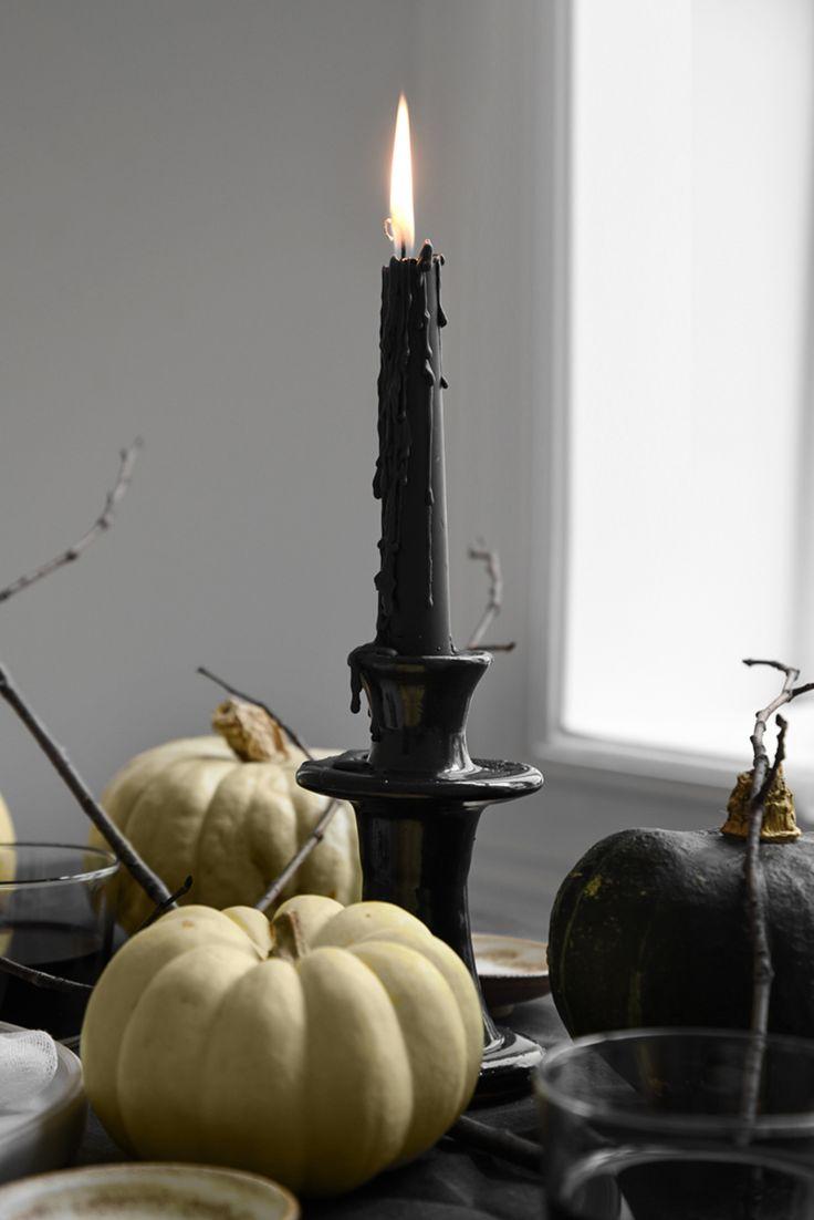 Only Deco Love: Elegantly creepy Halloween table