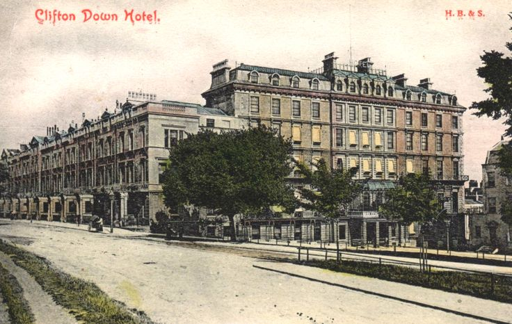 Clifton Down Hotel 1906.