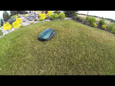 Oto Film zrobiony przez Naszego Klienta - Robomow 306  w akcji - Dron podąża za Robotem Koszącym - Na życzenie można odwiedzić Naszego Klienta po Uzgodnieniu  -http://witkowski-group.pl/#kontakt