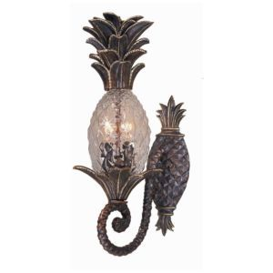 Check Out The Triarch International Maui Exterior 2 Light Pineapple Small  Outdoor Wall Sconce In English Bronze