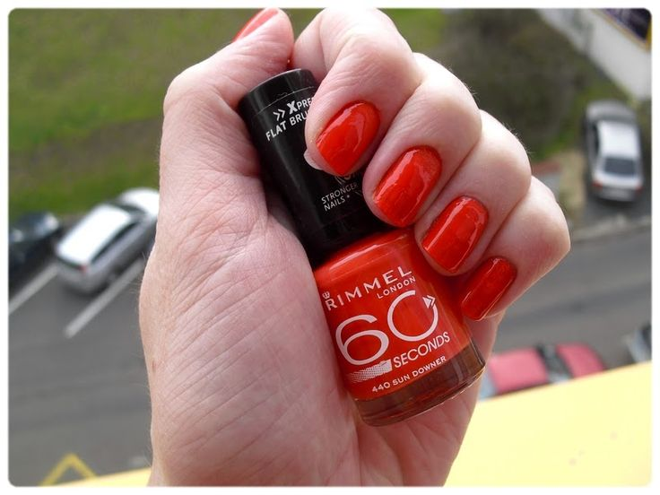 Gate to Neverland: NOTD: Rimmel 60 seconds - 440 Sun Downer