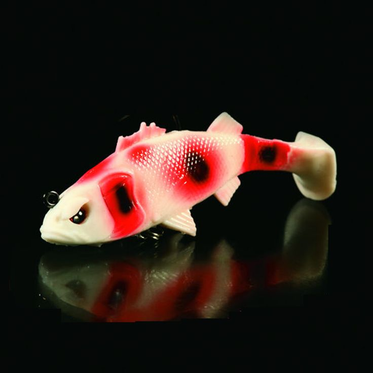 Noeby 15 pcs soft lure fishing swimbait shad for ul fishing worm 6.5cm iscas de pesca