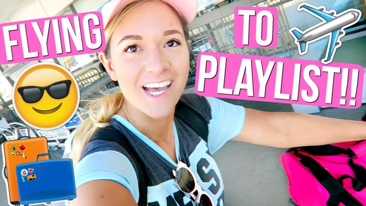 FLYING TO PLAYLIST LIVE ORLANDO!!!
