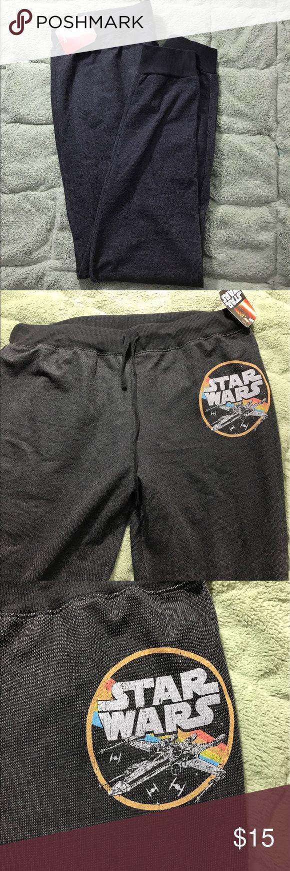 "Disney's Star Wars Women's XL Drawstring Pants Disney's Star Wars Women's XL Drawstring Print Sweatpants - see pictures for details  Waist - 32"" Inseam - 31""  Inventory - E149 Star Wars Intimates & Sleepwear Pajamas"