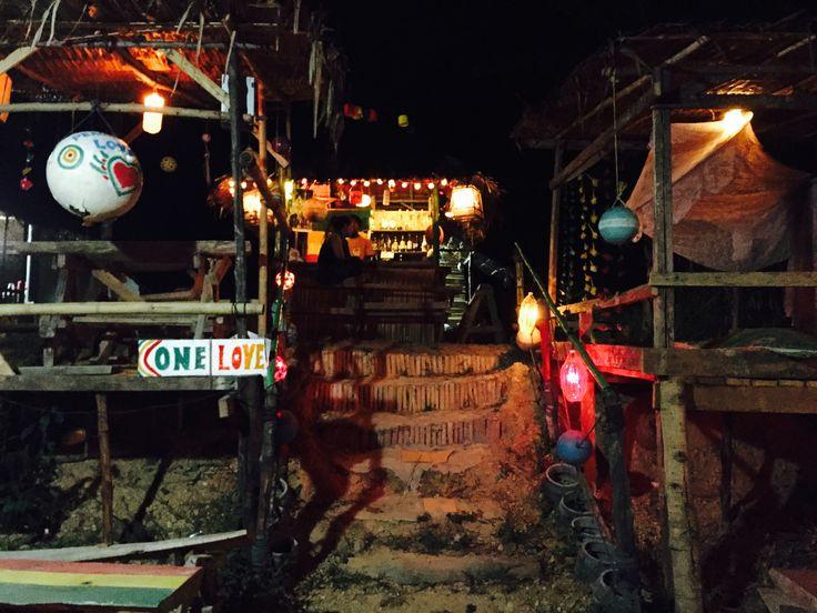 Koh muk island, one love bar