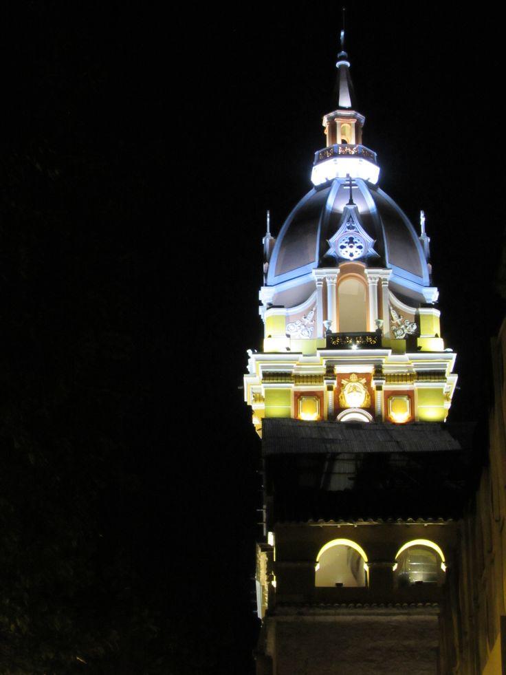 Catedral Santa Catalina de Alejandría, Cartagena. Colombia