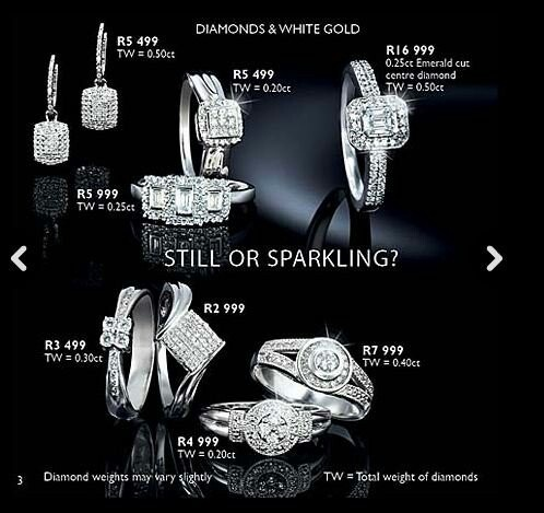 American swiss wedding and engagement rings