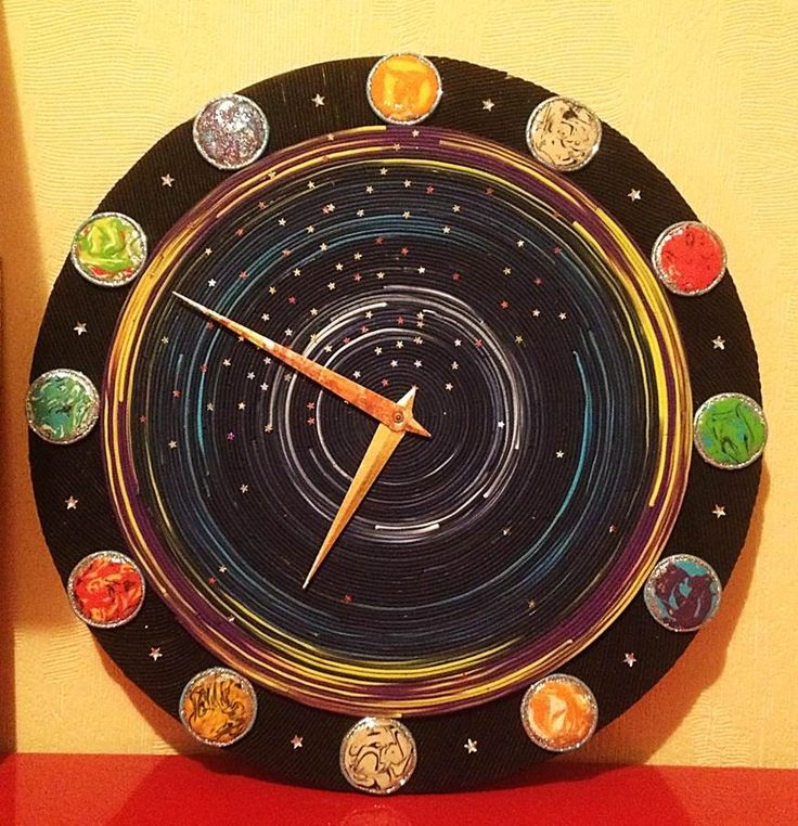 Fantastic Universe Clocks for kids, Unique wall clocks, Modern wall clock, Clock for kids, Kids clock, Kids room decor, Unusual Clocks by DOSHE on Etsy