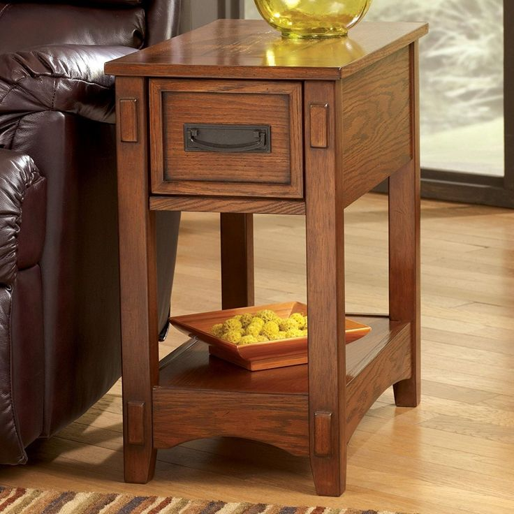 Signature Design By Ashley Breegin Mission Chair Side End Table