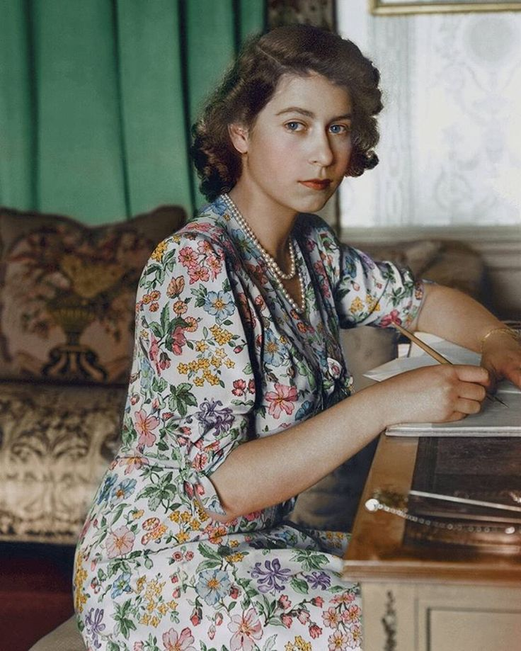 One of the most beautiful shots I have ever seen of HRH Queen Elizabeth 2