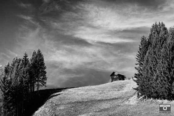 Austrian Mountains Photograph. Mountain by FineArtGalleryPrints