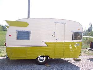 Vintage 1960's Shasta Camper Air Flyte Trailer Awesome Shape.