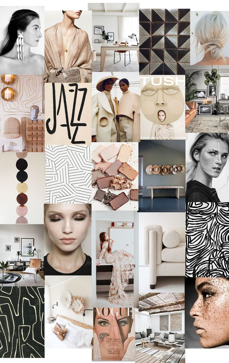 Neutral Mood Board
