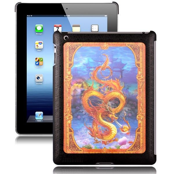 Adventure - 3D Effect (Golden Dragon) iPad 2 Cover