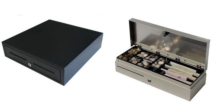 Cash drawers are one of the center segments to each Point of Sale System. It has isolated compartments for coins and bills of various divisions. Cash, Visa receipts, and other printed material are put away here. #Cashdrawers can be printer or terminal driven. read more
