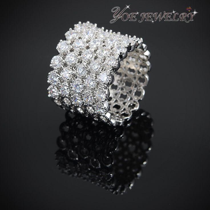 Высокое качество AAA циркон обручальные кольца для женщин роскошные обручальное кольцо.