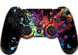Paint Splats Playstation 4 (PS4) Controller Sticker / Skin / Decal / PS30