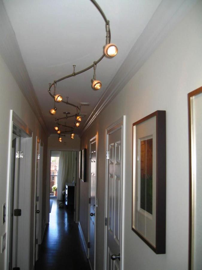 Find This Pin And More On Light Fixtures. Decoration,Astonishing Narrow Hallway  Lighting ...