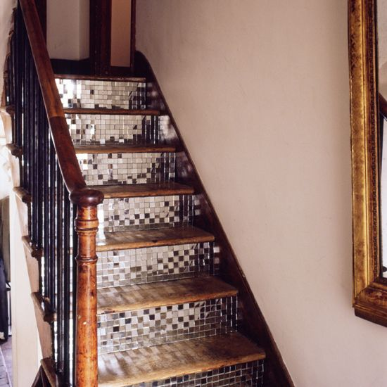 Make a feature out of your staircase with unusual details | striking ideas for stairs and hallways | Hallways and stairs ? 10 striking ideas | hallway decorating ideas | housetohome