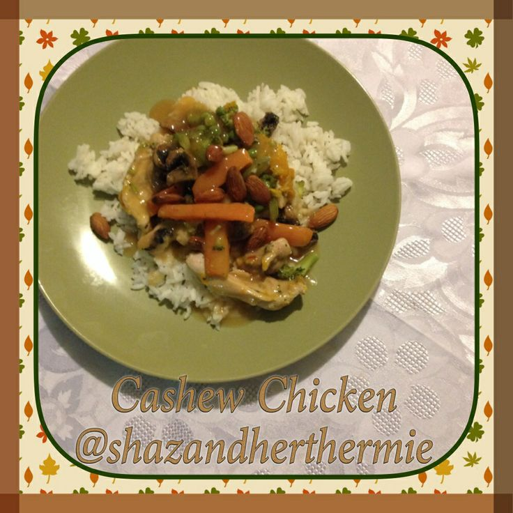 Cashew chicken from Everyday Cookbook thermomix