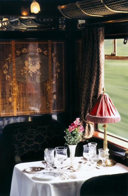 the Orient Express.