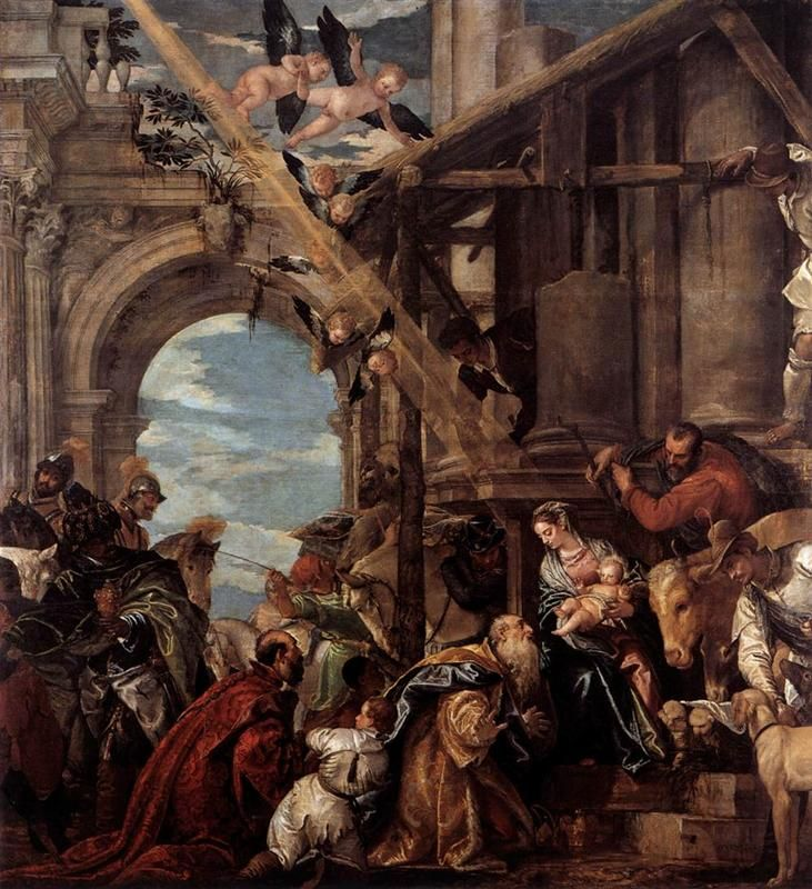 Adoration of the Magi Paolo Veronese 1573 Mannerism