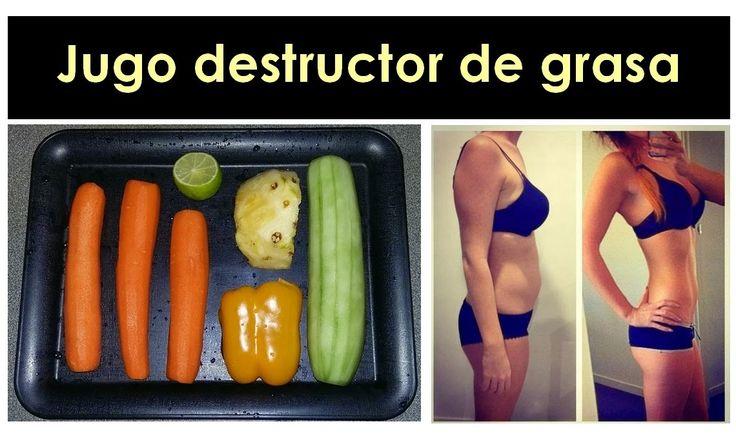 Baja de peso Ya MX: Jugo destructor de grasa