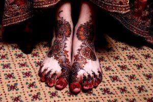 Mehndi Design Images For Legs