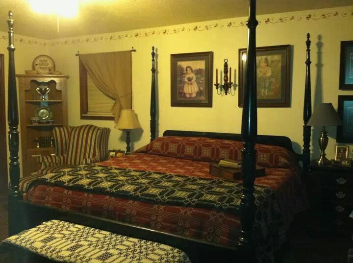 338 Best Images About Primitive Colonial Bedrooms On Pinterest Shaker Style Early American
