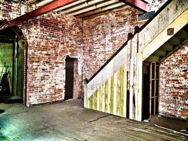 Mitchell Harris Cellar Door Build Stair