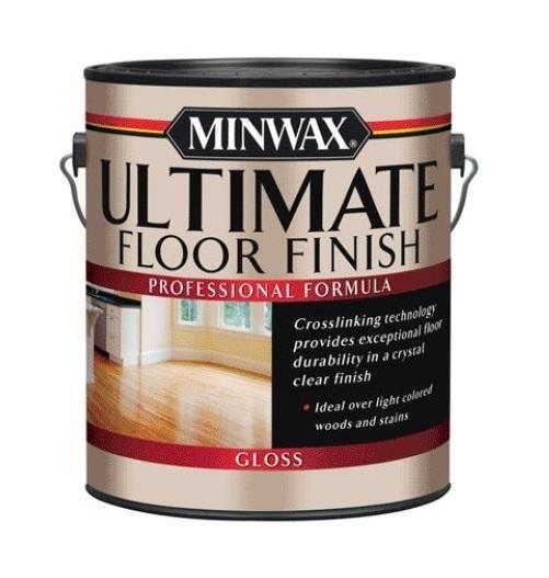 Minwax 13101 Ultimate Floor Finish Gloss 1 Gallon Floor Finishes Polyurethane Floors Minwax